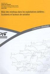 Bilan des minéraux dans les exploitations laitières : Excédents et facteurs d'exploitation