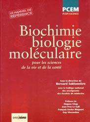 Biochimie et biologie moléculaire pour les sciences de la vie et de la santé