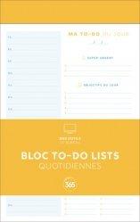 Bloc de to-do lists quotidiennes