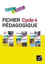 Blick und Klick Cycle 4 (2016) : Fichier Pédagogique