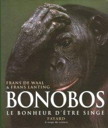 Bonobos. Le bonheur d'être singe