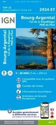 La couverture et les autres extraits de Les Deux Alpes, Olan, Muzelle, Parc national des Ecrins. 1/25 000