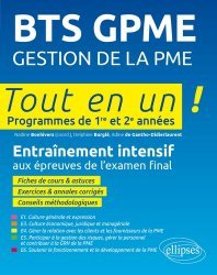 BTS GPME Gestion de la PME