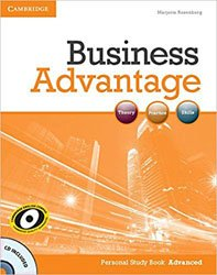 Business Advantage Advanced - Personal Study Book with Audio CD