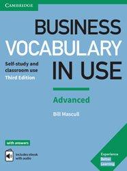 La couverture et les autres extraits de Business Vocabulary in Use Intermediate - Book with Answers