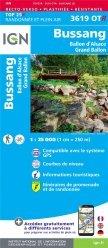 La couverture et les autres extraits de Le Donon, Lac de Pierre-Percée. 1/25 000