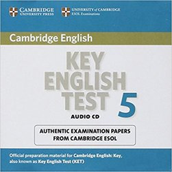 Cambridge Key English Test 5 - Audio CD Official Examination Papers from University of Cambridge ESOL Examinations