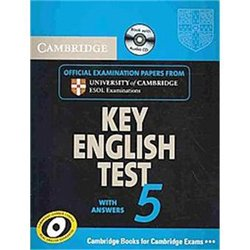 Cambridge Key English Test 5 - Self Study Pack (Student's Book with answers and Audio CD) Official Examination Papers from University of Cambridge ESOL Examinations