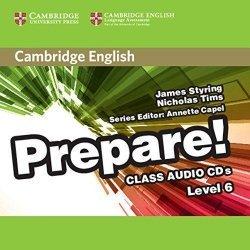 Cambridge English Prepare! Level 6 - Class Audio CDs (2)