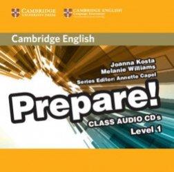 Cambridge English Prepare! Level 1 - Class Audio CDs (2)