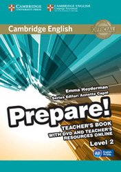 Cambridge English Prepare! Level 2 - Teacher's Book with DVD and Teacher's Resources Online