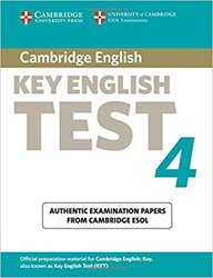 Cambridge Key English Test 4 - Student's Book