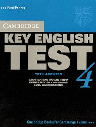 Cambridge Key English Test 4 - Student's Book with Answers