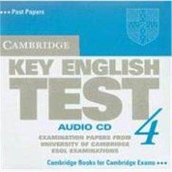 Cambridge Key English Test 4 - Audio CD