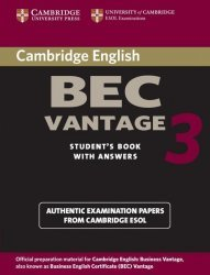 Cambridge BEC Vantage 3 - Student's Book with Answers