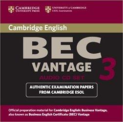 Cambridge BEC Vantage 3 - Audio CD Set (2 CDs)