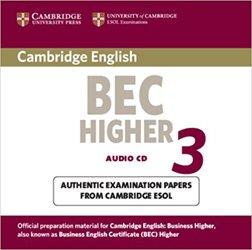 Cambridge BEC Higher 3 - Audio CD