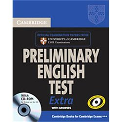 Cambridge Preliminary English Test Extra - Student's Book with Answers and CD-ROM