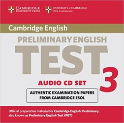 Cambridge Preliminary English Test 3 - Audio CD Set (2 CDs) Examination Papers from the University of Cambridge ESOL Examinations