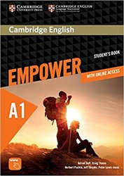 Cambridge English Empower, Starter - Student's Book with Online Assessment and Practice, and Online Workbook