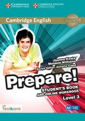 Cambridge English Prepare! Level 3 - Student's Book and Online Workbook with Testbank