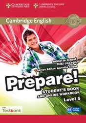 Cambridge English Prepare! Level 5 - Student's Book and Online Workbook with Testbank