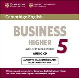 Cambridge English Business 5 - Higher Audio CD