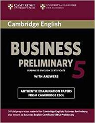Cambridge English Business 5 Preliminary - Student's Book with Answers
