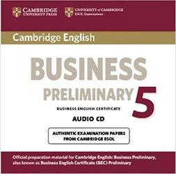 Cambridge English Business 5 - Preliminary Audio CD