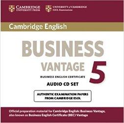 Cambridge English Business 5 - Vantage Audio CDs (2)