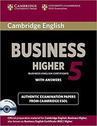 Cambridge English Business 5 Higher - Self-study Pack (Student's Book with Answers and Audio CD)