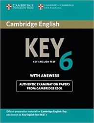 Cambridge English Key 6 - Student's Book with Answers