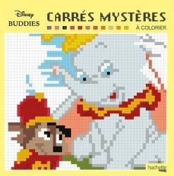 Carrés mystères à colorier Disney Buddies