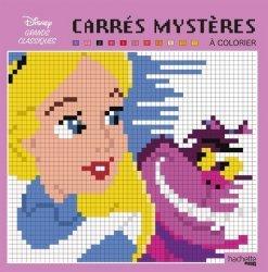 Carrés mystères à colorier Disney Grands classiques