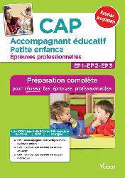 CAP Accompagnement éducatif - Petite enfance - Épreuves professionnelles
