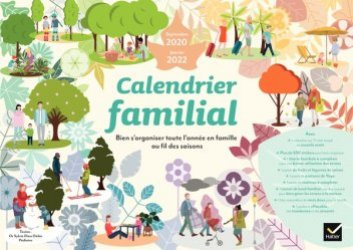 Calendrier familial septembre 2020 - janvier 2022