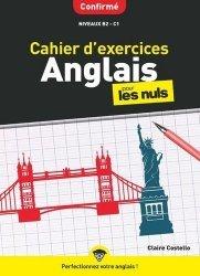 Cahier d'exercices anglais confirmé pour les Nuls