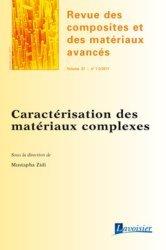 Caractérisation des matériaux complexes