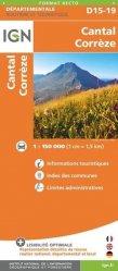 La couverture et les autres extraits de Montluçon Guéret. 1/100 000