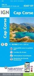 La couverture et les autres extraits de Cervione, PNR de Corse. 1/25 000