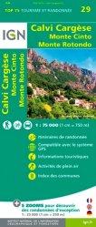 La couverture et les autres extraits de Porto Calanche de Piana. 1/25 000