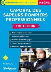 Caporal des sapeurs-pompiers professionnels