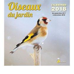 Calendrier oiseaux de jardin 2018