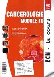 La couverture et les autres extraits de Cancérologie  Module 10