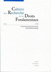 Cahiers de la Recherche sur les Droits Fondamentaux