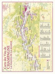 Carte des Vins de Champagne - La Vallée de la Marne