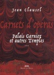 Carnets d'opéras