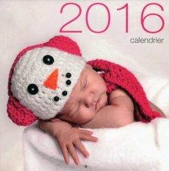Calendrier mural bébés 2016