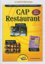 CD CAP Restaurant 1ère année - Version professeur