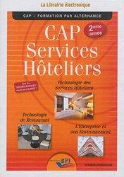 CD CAP Services hôteliers 2ème année - Prof
